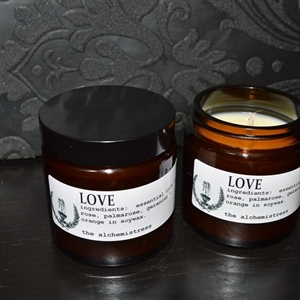Picture of The Alchemistress Soy Wax Candles - Love Apothecary Jar